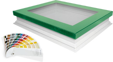 Insulated Flat-Roof Deck Mounted Skylights DEF, DMF, DXF - FAKRO