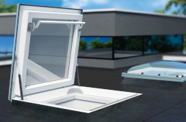 Flat Roof Access Thermo Skylight DRF DU6