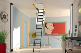 Smart Attic Ladders