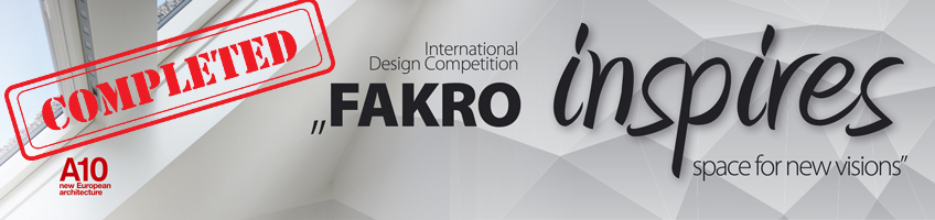 "Jury Report 2015 - ""FAKRO Inspires – Space for New Visions"" - FAKRO"