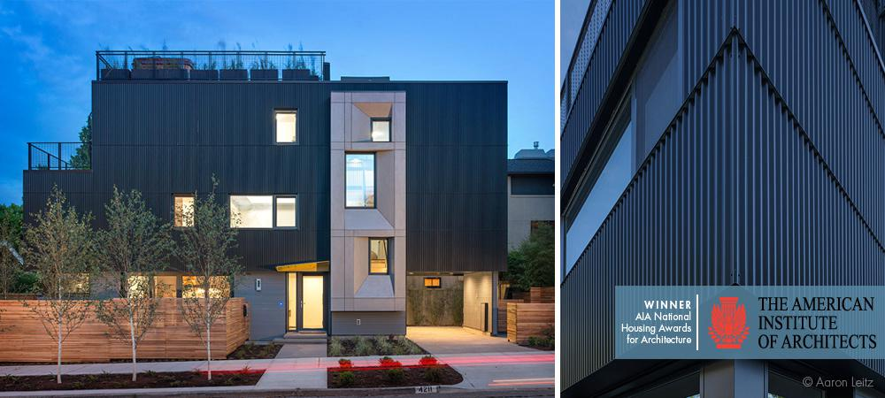 The AIA Housing Award for \