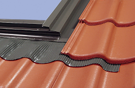 Step ELW and high profile EHW flashing for flat and profiled roofing materials