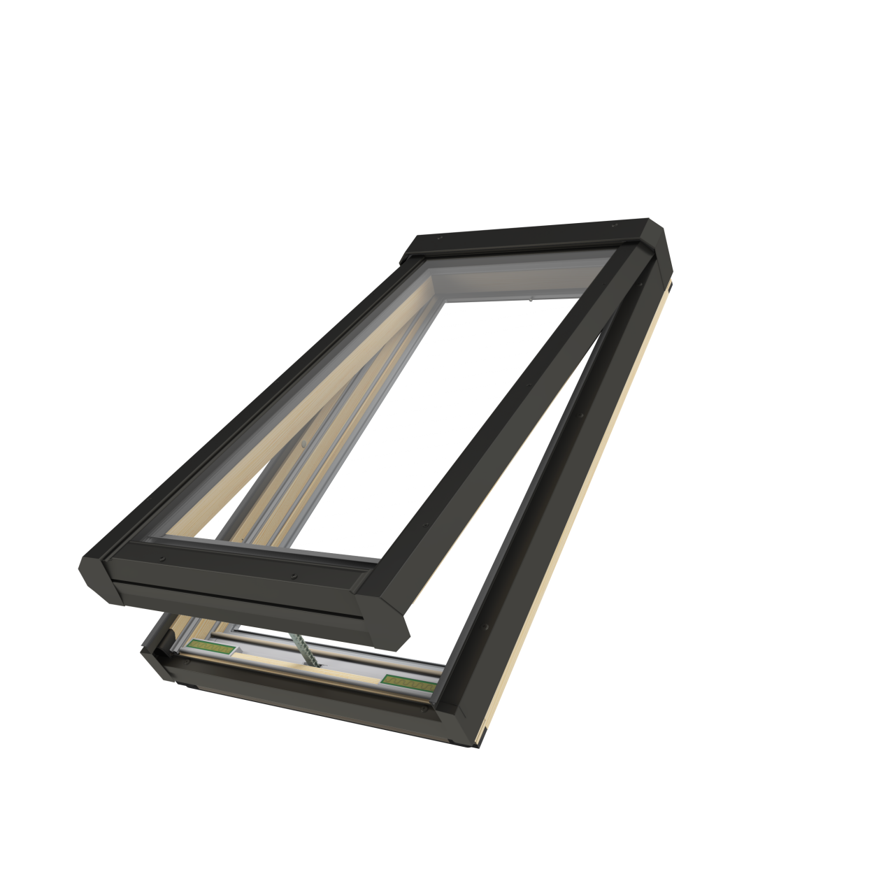 Velux Vs Manual Venting Skylight U2013 Innovative Skylights Manual Guide